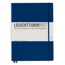 Lt342928 , Leuchtturm notitieboek master slim a4 blanco marineblauw