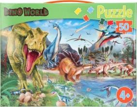 , Dino world puzzel 50 stukjes