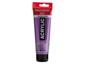 , Talens amsterdam acrylverf tube 120 ml ultramarijnviolet 507