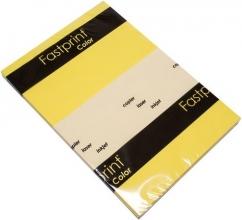 , Kopieerpapier Fastprint A4 80gr geel 100vel