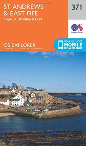 Ordnance Survey,St Andrews and East Fife