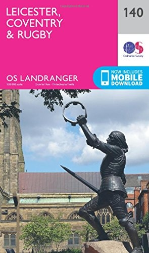 Ordnance Survey,Leicester, Coventry & Rugby