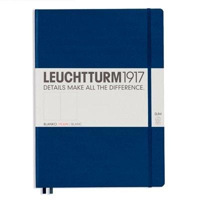 Lt342928,Leuchtturm notitieboek master slim a4 blanco marineblauw