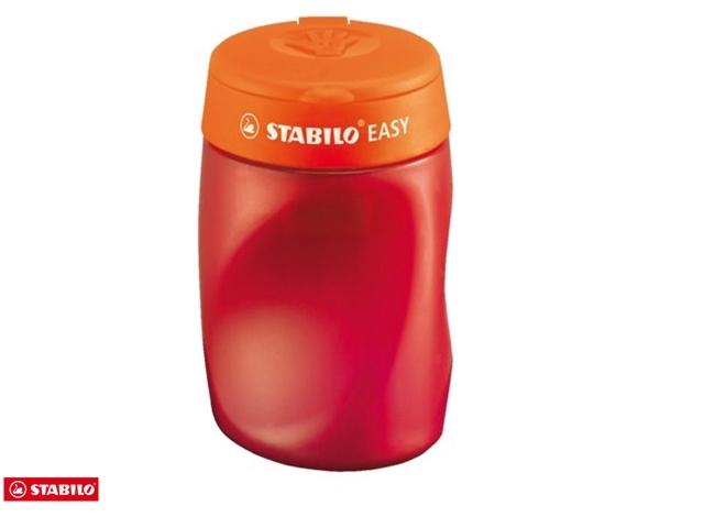 ,Puntenslijper STABILO Easy 4502 3 in 1 rechtshandig oranje