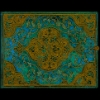 <b>Pb32182</b>,Paperblank notitieboek blanco guestbook turquoise chronicles