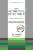 New International Version, NIV Zondervan Study Bible (Anglicised)