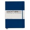 <b>Lt342928</b>,Leuchtturm notitieboek master slim a4 blanco marineblauw