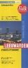 ,<b>Leeuwarden stadsplattegrond & fietskaart</b>