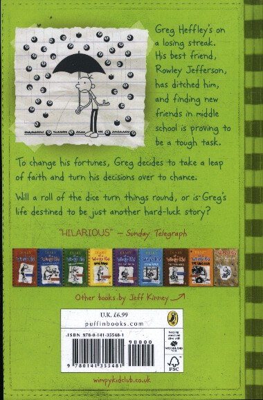 Kinney, Jeff,Diary of a Wimpy Kid: Hard Luck
