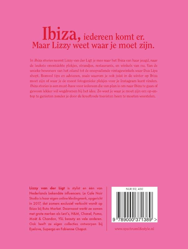 Lizzy van der Ligt,Ibiza stories