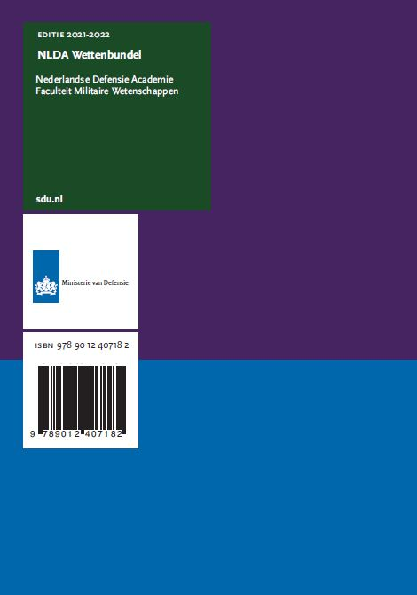 Academie,NLDA Wettenbundel. Editie 2021-2022
