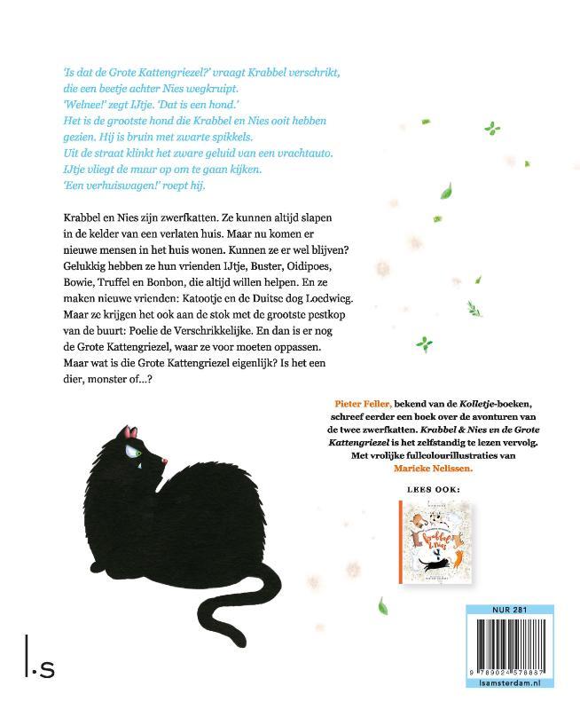 Pieter Feller,Krabbel en Nies en de grote kattengriezel
