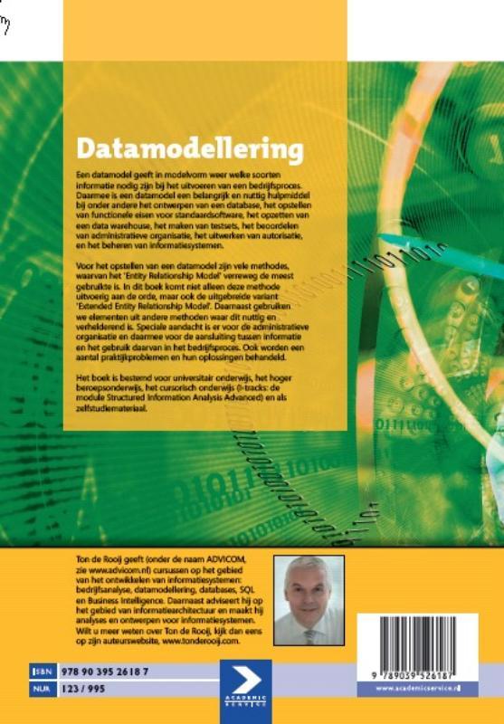 Ton de Rooij,Datamodellering