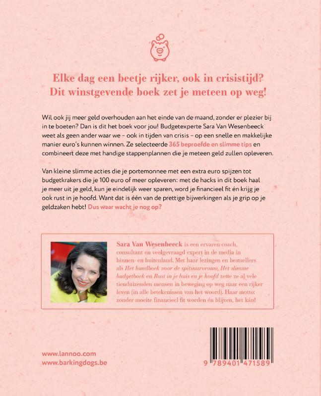 Sara Van Wesenbeeck,Hack je budget