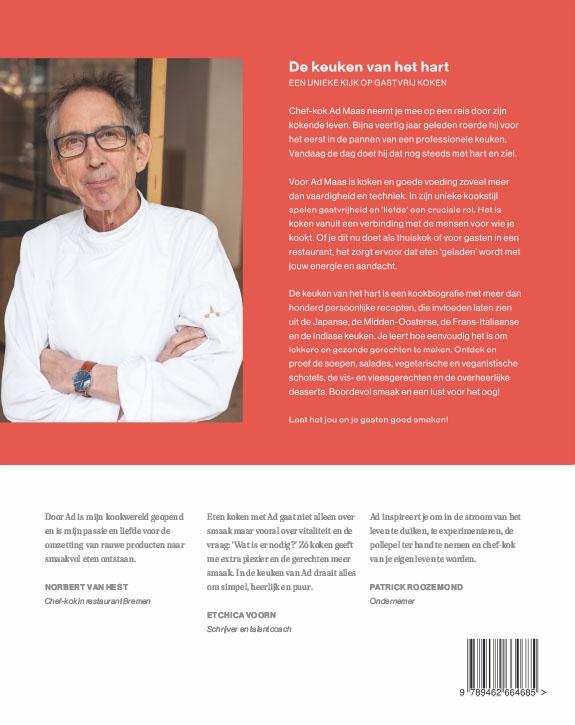 Ad Maas,De keuken van het hart