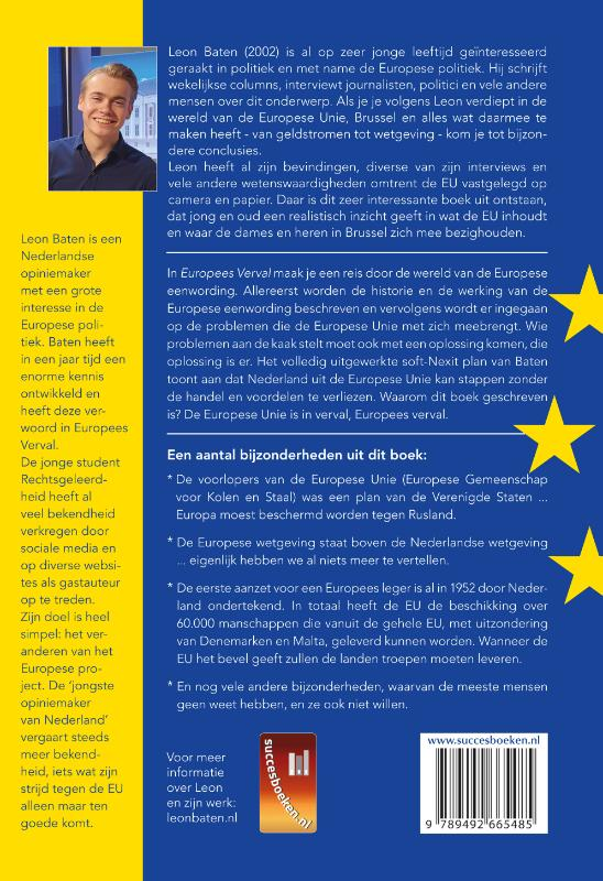 Leon Baten,Europees Verval