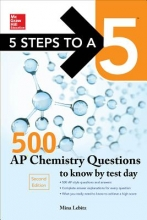 Lebitz, Mina 5 Steps to a 5 500 AP Chemistry Questions to Know by Test Day, 2nd Edition