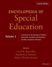 Reynolds, Cecil R. Encyclopedia of Special Education, Volume 1