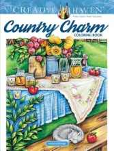 Teresa Goodridge Creative Haven Country Charm Coloring Book