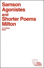 Milton, John Samson Agonistes, and Shorter Poems
