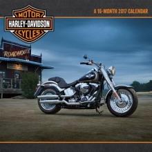 Harley-Davidson Motorcycles 2017 Calendar