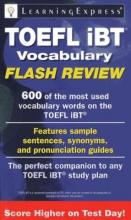 TOEFL iBT Vocabulary Flash Review
