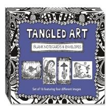 Tangled Art Blank Notecards & Envelopes