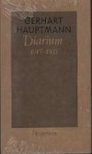 Hauptmann, Gerhart Diarium 1917 bis 1933