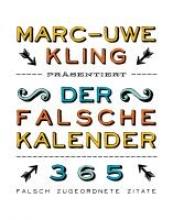 Kling, Marc-Uwe Der falsche Kalender