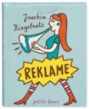 Ringelnatz, Joachim Reklame