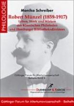 Schreiber, Monika Robert Mnzel (1858-1917)