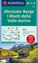 , Ahrntaler Berge, I Monti della Valle Aurina 1:25 000