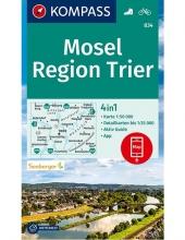 , Kompass WK834 Mosel, Region Trier