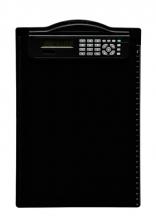 , Klembord MAUL A4 staand + rekenmachine zwart