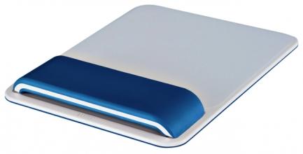 , Muismat Leitz WOW Ergo met verstelbare polssteun Blauw