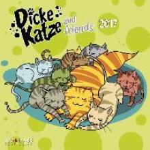 Dicke Katze 2017 Broschürenkalender
