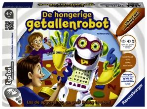, De hongerige getallenrobot Tiptoi Ravensburger