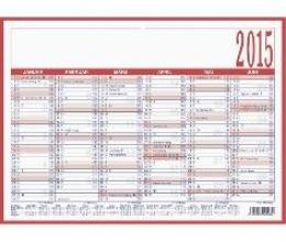 Arbeitstagekalender 2017 Nr. 908-1315 kaschiert