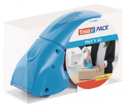 , Handdozensluiter Tesa Pack `N Go blauw