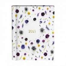 , Agenda 2021 wire-o flowers white
