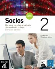 Socios 2 Libro del alumno + CD