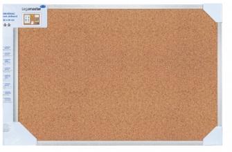 , Prikbord Lega universal 45x60cm kurk retailverpakking