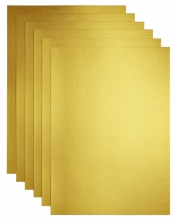 , Kopieerpapier Papicolor A4 120gr 6vel goud