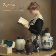 , Reading in Art maandkalender 2021