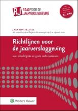 , Richtlijnen voor de jaarverslaggeving, middelgrote en grote rechtspersonen 2021