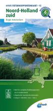 ANWB , Fietsknooppuntenkaart Noord-Holland zuid 1:100.000