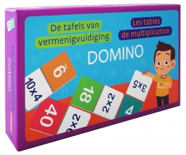 , Domino - De tafels van vermenigvuldiging Domino - Les tables de multiplication
