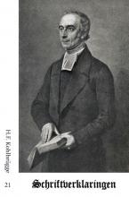 H.F.  Kohlbrügge Schriftverklaringen 21