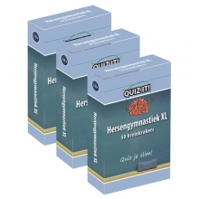 QUIZ IT - Hersengymnastiek XL, 3pack - QT313