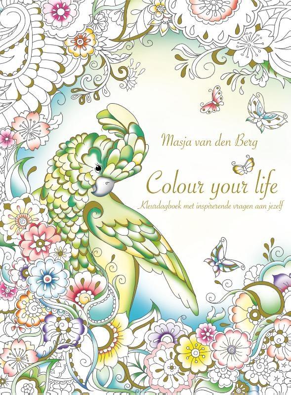 Masja van den Berg,Colour your life